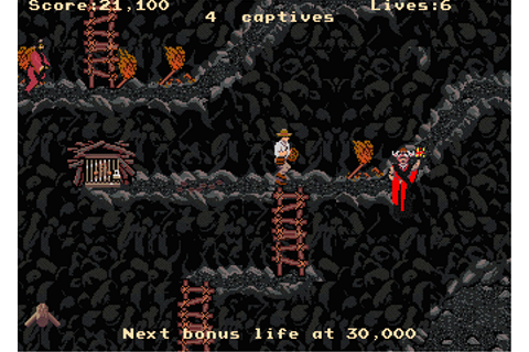 Indiana Jones and the Temple of Doom Arcade Review