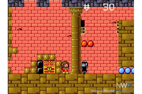Alex Kidd in the Enchanted Castle - Game - Nintendo World ...
