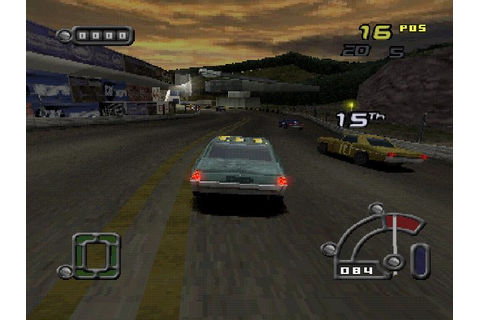 Destruction Derby Raw (2000) by Studio 33 PS game