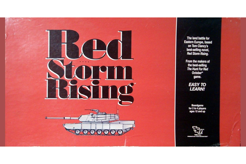 Red Storm Rising | Board Game | BoardGameGeek