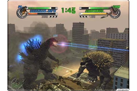 Godzilla: Destroy All Monsters Melee Hands-On - IGN