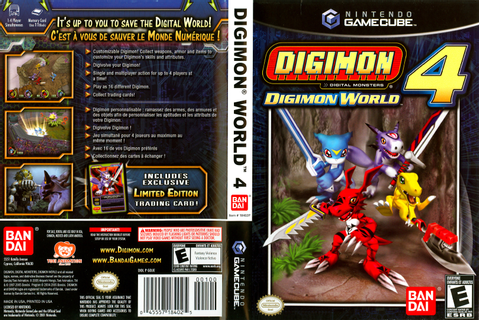 Digimon World 4 ISO