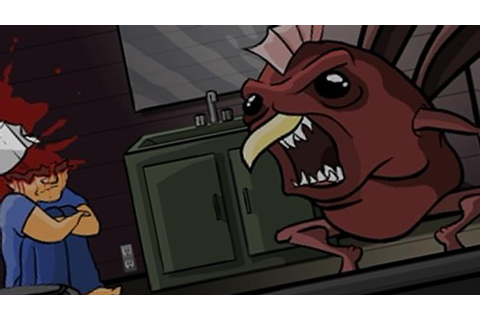 WTF GORY FLASH GAME - The Visitor - YouTube