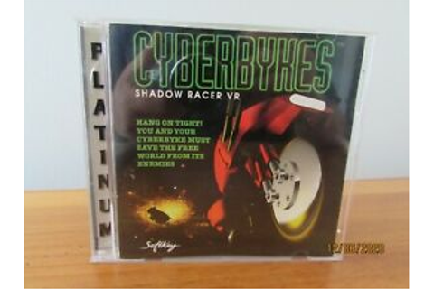 CYBERBYKES SHADOW RACER VR BY SOFTKEY 1996 | eBay