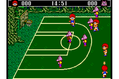 Basketball Nightmare (1989) by Sega Master System game