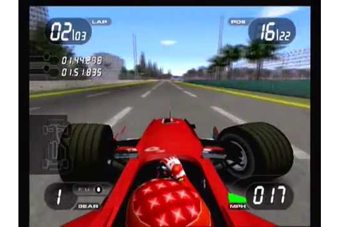 THE EPIC MUSIC OF FORMULA ONE 2001 (PLAYSTATION 2) - YouTube