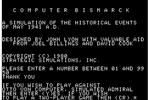 Download Computer Bismarck (Apple II) - My Abandonware
