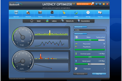 Latency Optimizer - Download