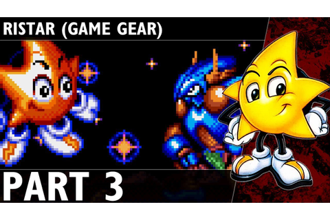 Ristar (Game Gear) Commentary Part 3 - Planet Automaton ...