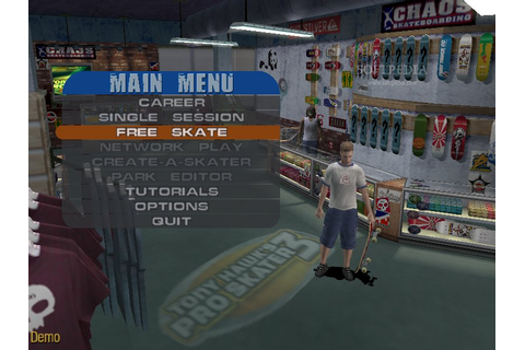 Tony Hawk's Pro Skater 3 Demo Download