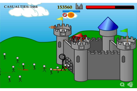 Defend Your Castle (Browser Flash Game, iOS, and WiiWare ...