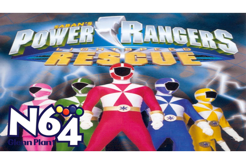 Power Rangers Lightspeed Rescue - Nintendo 64 Review - HD ...