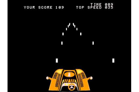 Arcade Game: Night Driver (1976 Atari) [Re-Uploaeded ...