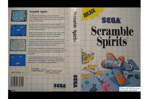 Scramble Spirits - Sega Master System - (Full Game ...