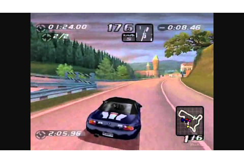 PS1 Top 5 Racing Games - YouTube