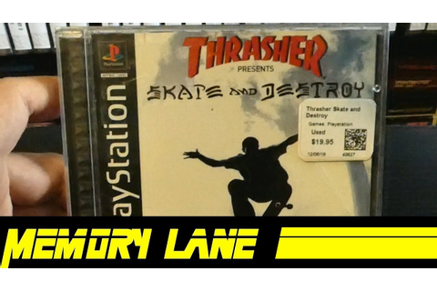 Thrasher Presents Skate and Destroy for PlayStation ...