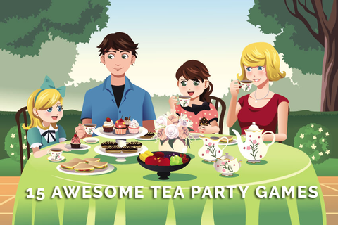 15 Awesome Tea Party Games for Kids & Adults - IcebreakerIdeas
