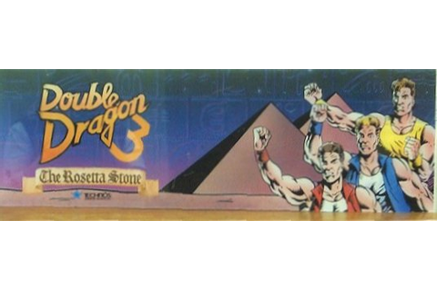 Double Dragon 3 The Rosetta Stone - Videogame by Technos