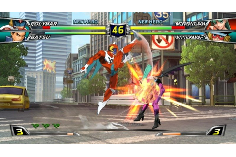 Tatsunoko Vs Capcom : Cross Generation of Heroes (2008 ...