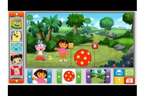 Nick Jr Online Game Review Sticker Picture Fun Happy Game ...