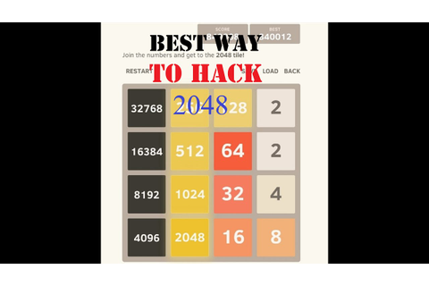 Hack - 2048 Android Game For Unlimited Scores! - YouTube