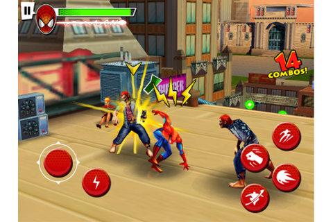 Y HD GAMES: Spiderman Total Mayhem HD