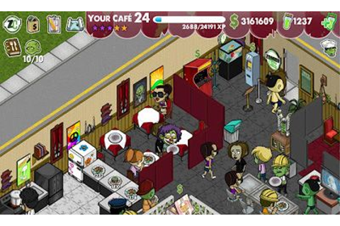 Zombie Cafe Online