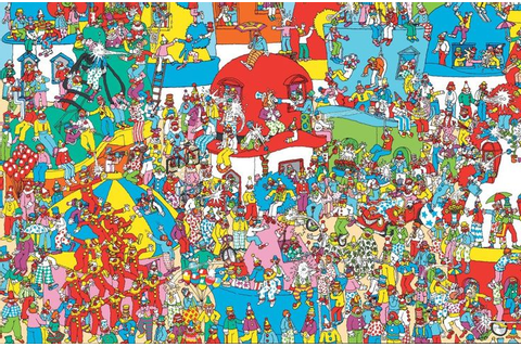 where's waldo | Where's Waldo? (also known as Where's ...