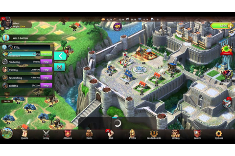 March of Empires from gameloft Castle Level 5 windows ...