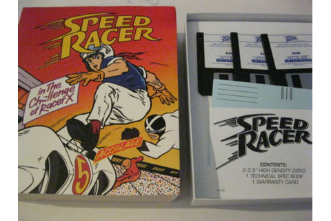 "Speed Racer in the Challenge of Racer X PC game 3.5"" disk ..."