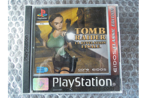 TOMB RAIDER La Révélation Finale sur PS1 - Link to the past