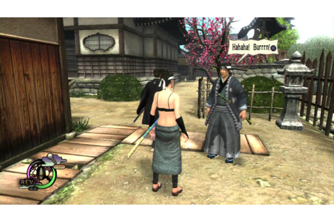 Way of the Samurai 4 - random walking - YouTube