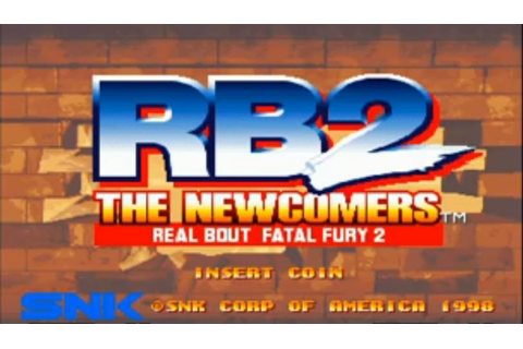 Real Bout Fatal Fury 2: The Newcomers - Wikipedia