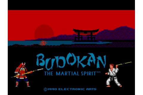 Budokan - The Martial Spirit (USA) ROM