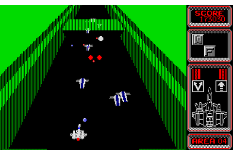 Silpheed (1986) by Game Arts NEC PC8801 game