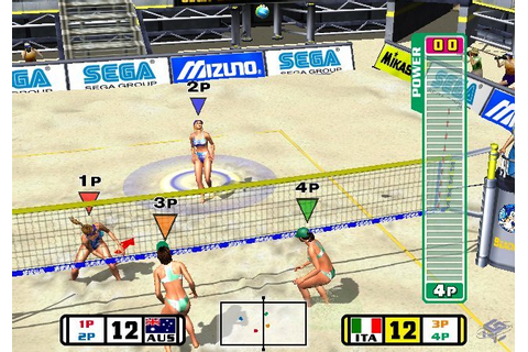 Beach Spikers - Game - Nintendo World Report