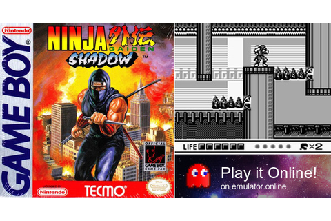 Play Ninja Gaiden Shadow on Game Boy