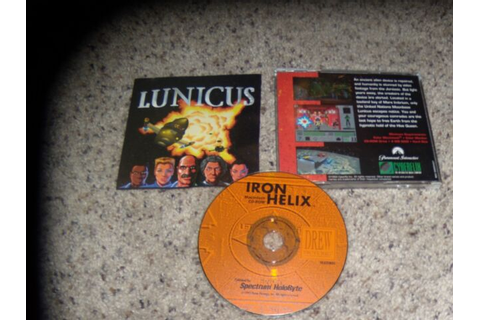 Lunicus (Macintosh, 1993) Game | eBay