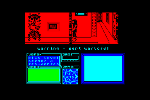 Marsport by Gargoyle games on Amstrad CPC (1985)