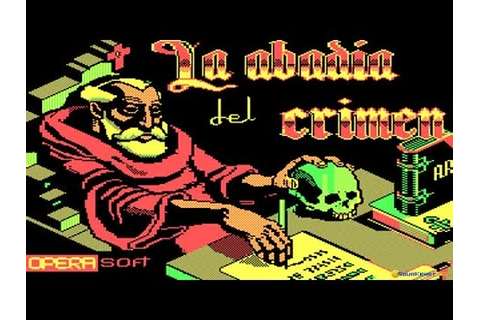 La Abadía del Crimen gameplay (PC Game, 1987) - YouTube