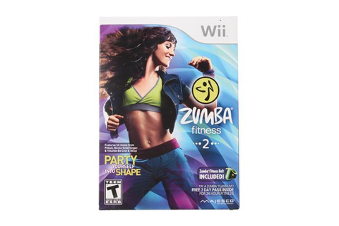 Zumba Fitness 2 Wii Game MAJESCO - Newegg.com