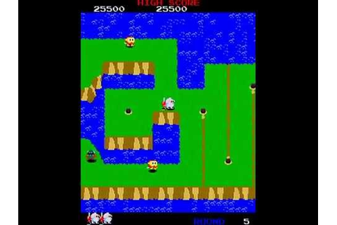 Dig Dug 2 Arcade Gameplay - YouTube