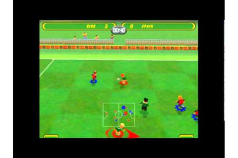 LEGO Soccer/Football Mania - LEGO Cup - Game 1 - YouTube