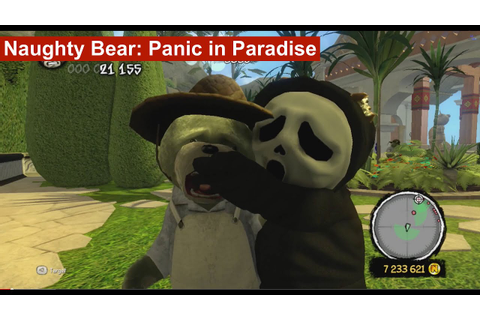 Naughty Bear: Panic in Paradise - NO MERCY - Kill EVERYONE ...