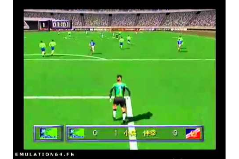 J.League Live 64 (Nintendo 64) - YouTube