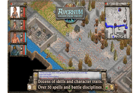 Avernum: Escape From the Pit download PC