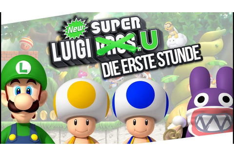 New Super Luigi U - 1h Gameplay mit Mpox (Wii U) - YouTube