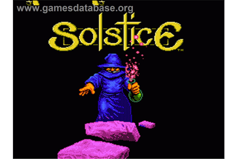 Solstice: The Quest for the Staff of Demnos - Nintendo NES ...