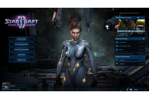 Free Download Game StarCraft II Heart of the Swarm For PC ...