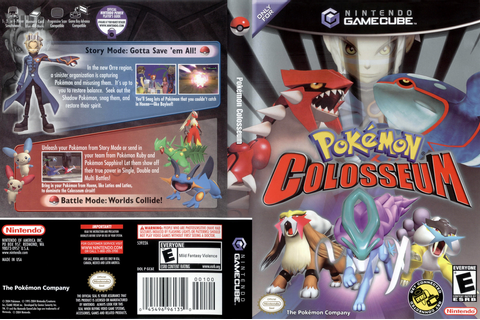 GC6E01 - Pokémon Colosseum